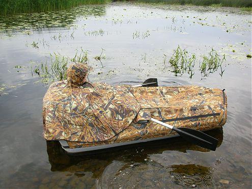 Лодка для охоты на уток