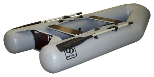 Надувная лодка Фрегат 300Е л/п серая