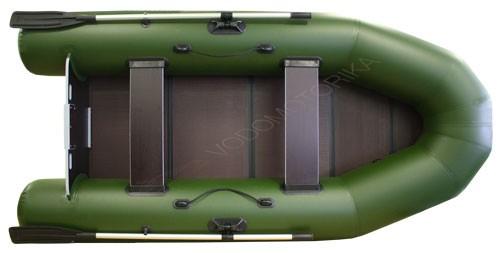 Надувная лодка Фрегат 300Е л/п зеленая