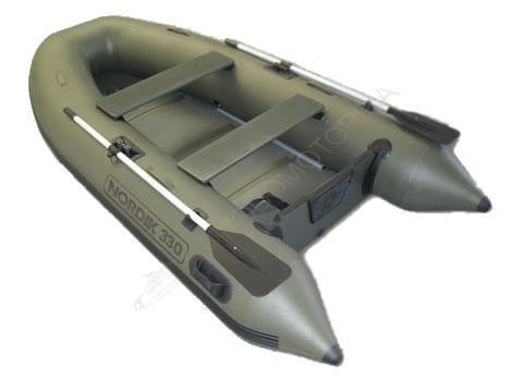 Лодка надувная NORDIK 380 olive