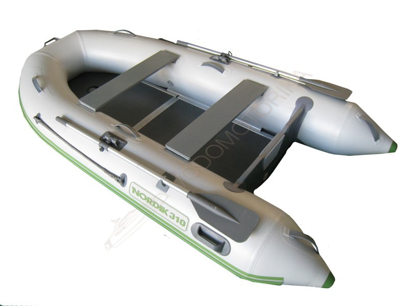 Лодка надувная NORDIK 380 silver