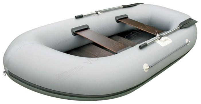 Лодка двухместная с транцем Stream Дельфин-2