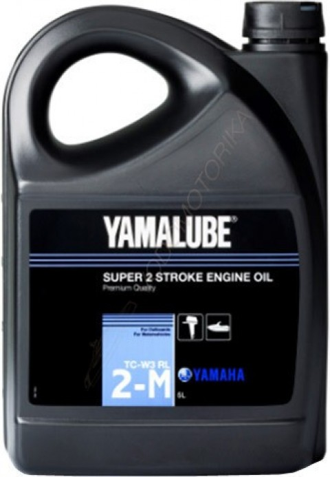 Моторное масло Yamalube 2-M TC-W3 RL Marine Mineral Oil (1 л)
