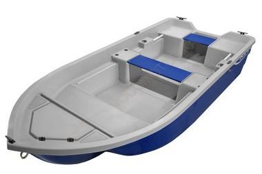 Стеклопластиковая моторная лодка SCANDIC EVING 340 (синий)