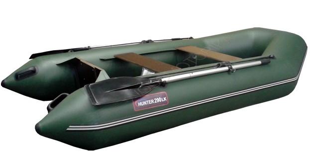 Лодка Хантер 290 ЛК (зеленый)