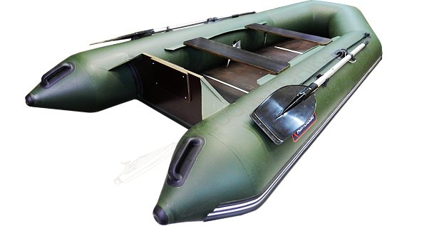 Лодка Хантер 320 Л (зеленый)