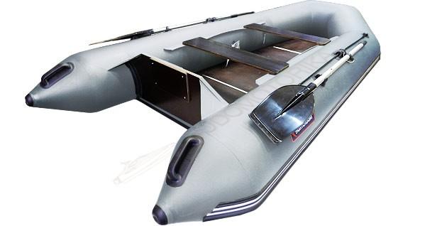 Лодка Хантер 320 Л (серый)