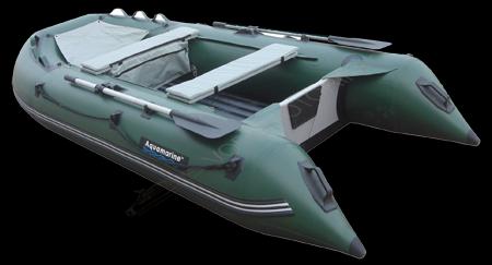 надувная моторно-гребная лодка aquamarine 300