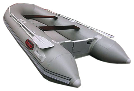 Лодка KORSAR J.Silver-380 (светло-серый)