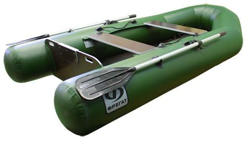 Надувная лодка пвх Фрегат 280 ЕS л/т (зеленая)
