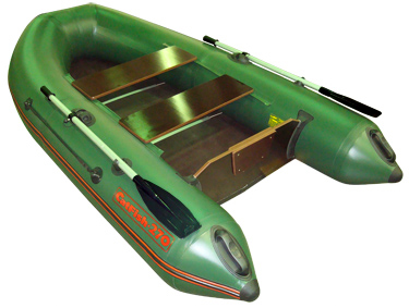 Лодка Мнев и К CATFISH 270 (оливковый)