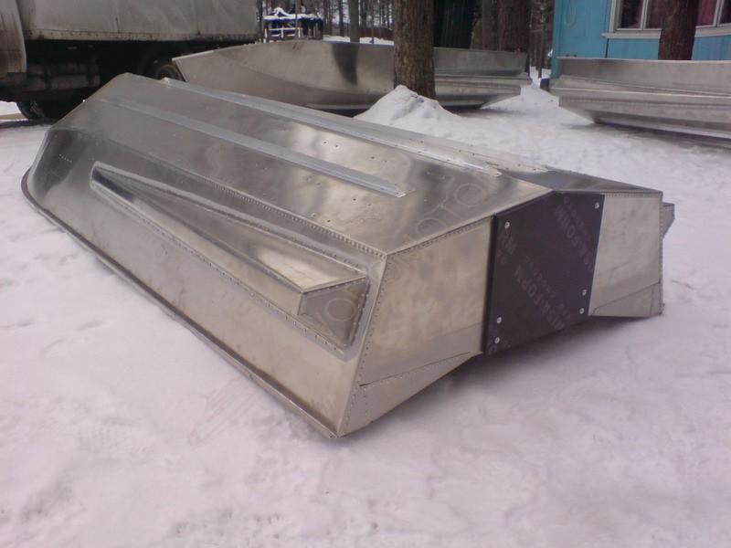 Лодка с алюминия своими руками
