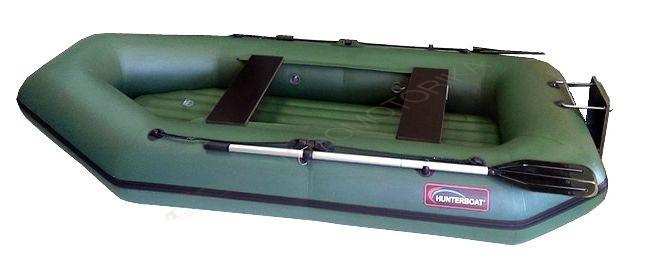 Лодка Хантер 280 ЛТН (зеленый)