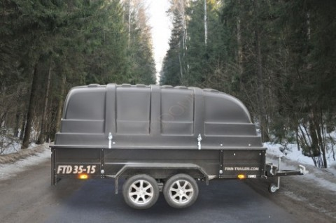 Автоприцеп Finn-traileri FTD 35-15 black