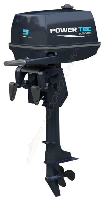 Лодочный мотор 2-х тактный POWERTEC T 5 AMHS