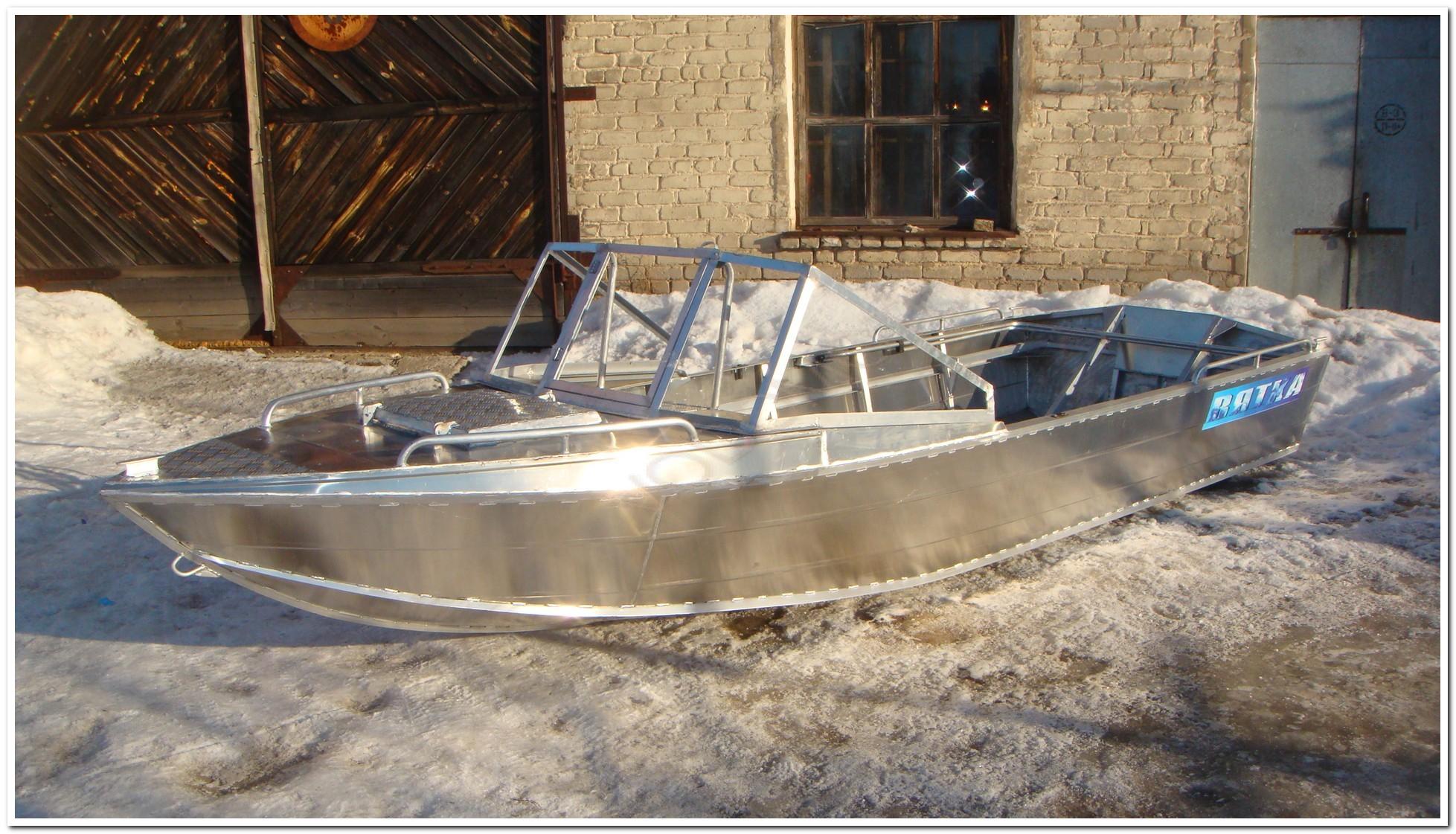 алюминиевые лодки изготовляются из