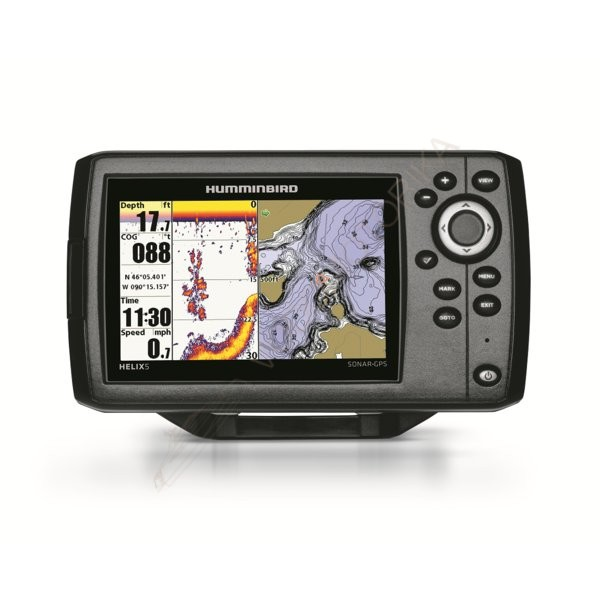 Эхолот Humminbird HELIX 5 SONAR GPS ( арт. HB-Helix5GPS )