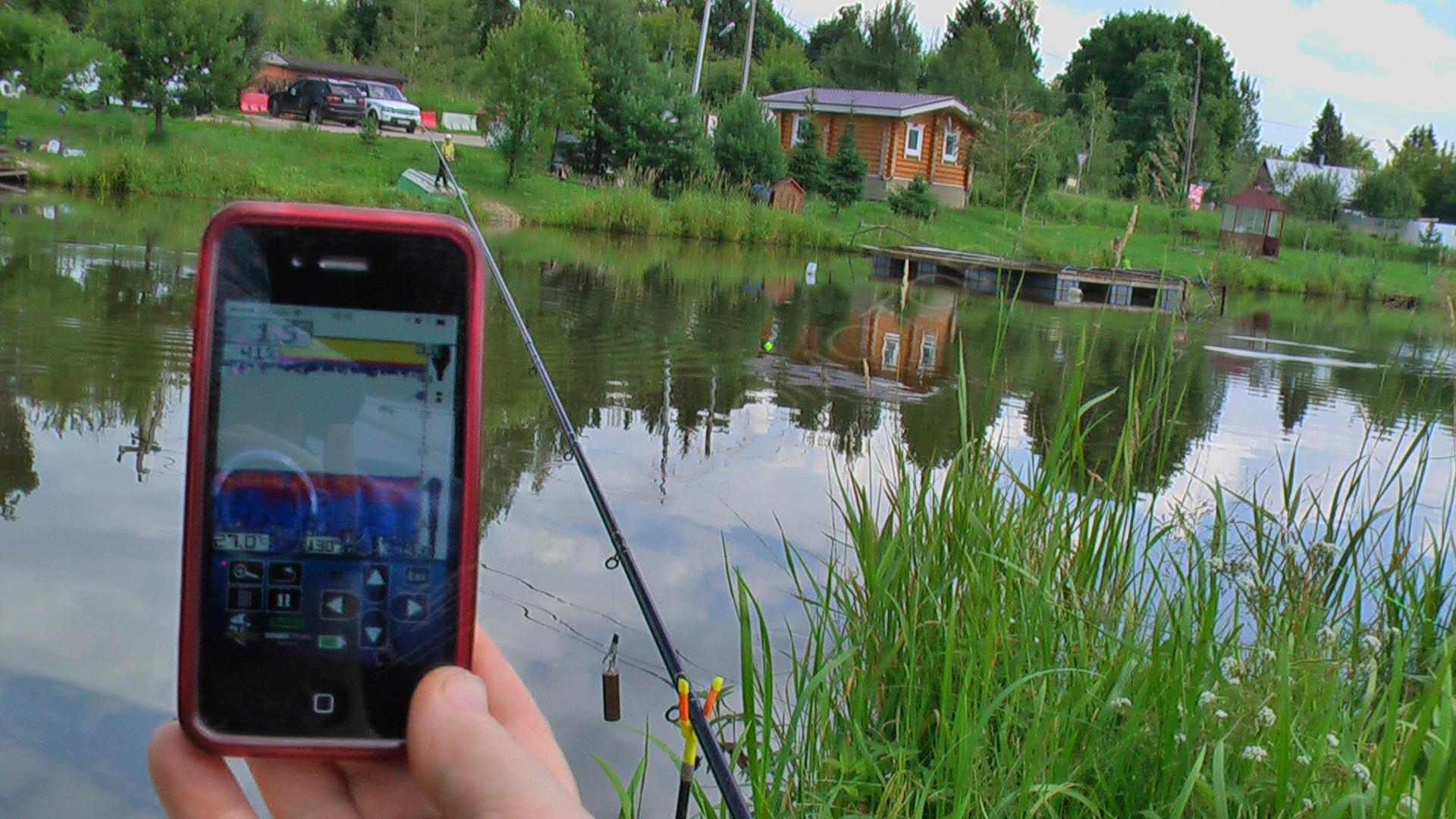 купить эхолот для рыбалки с берега