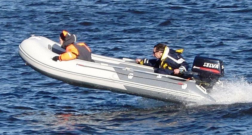 сборка лодки баджер с жестким пайолом