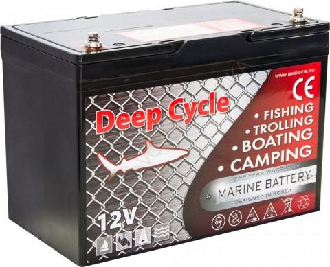Аккумулятор глубокого разряда Marine Deep Cycle AGM 6FM90TD-X