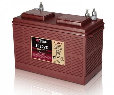 Батарея двойного назначения ( стартерная/глубокого разряда ) Trojan SCS225