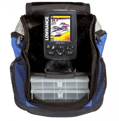 Эхолот Lowrance Elite-3x All-Season Fishfinder Pack with 83/200