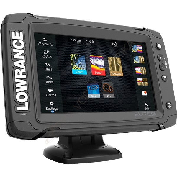 Картплоттер-эхолот Lowrance Elite-7Ti Mid/High/TotalScan