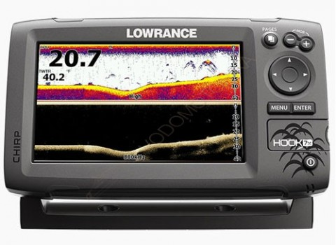 Картплоттер Lowrance Hook-7x Mid/High/DownScan
